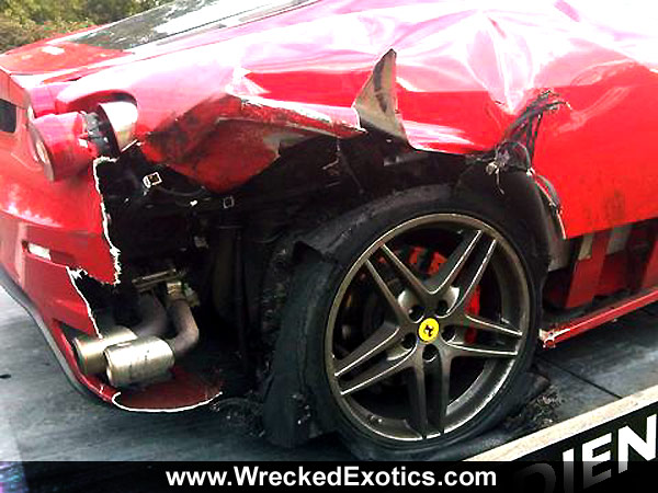 Ferrari Tire Blowout Shows Dangers of High Speed Driving