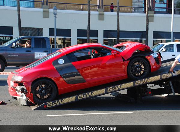 Exotic Cars Crashing Into Exotic Cars