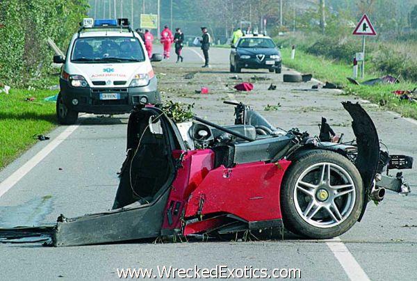 The 10 Worst High Speed Car Crashes | WreckedExotics com