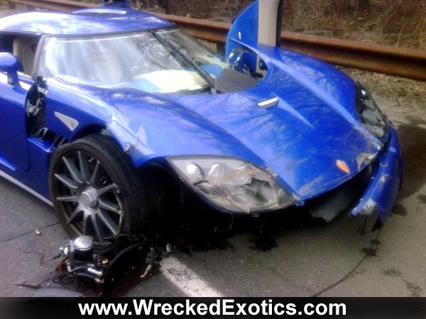 Rare Koenigsegg Ccx Bites The Dust
