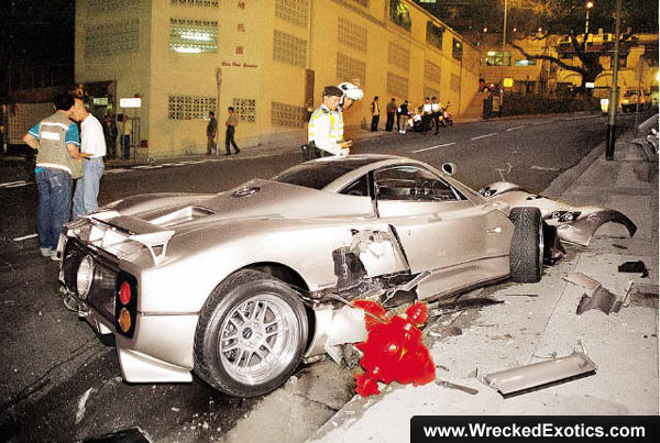 Pagani 20030211 for There are usually collisions in a motor vehicle crash