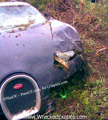Accidente De Autos Caros