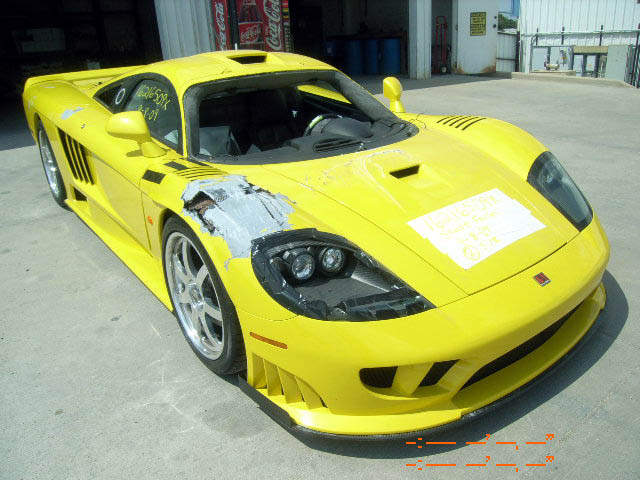 Saleen S7 For Sale >> Saleen S7 For Sale Damaged Salvage