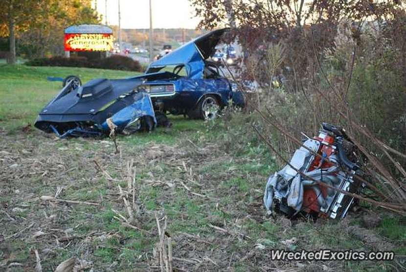 65 Year Old Driver Was Killed After His Classic Muscle Car Slammed Into A