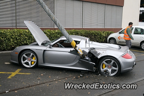 Exotic Cars With the Highest Percentage of Crashes