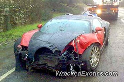 Bugatti veyron wrecks