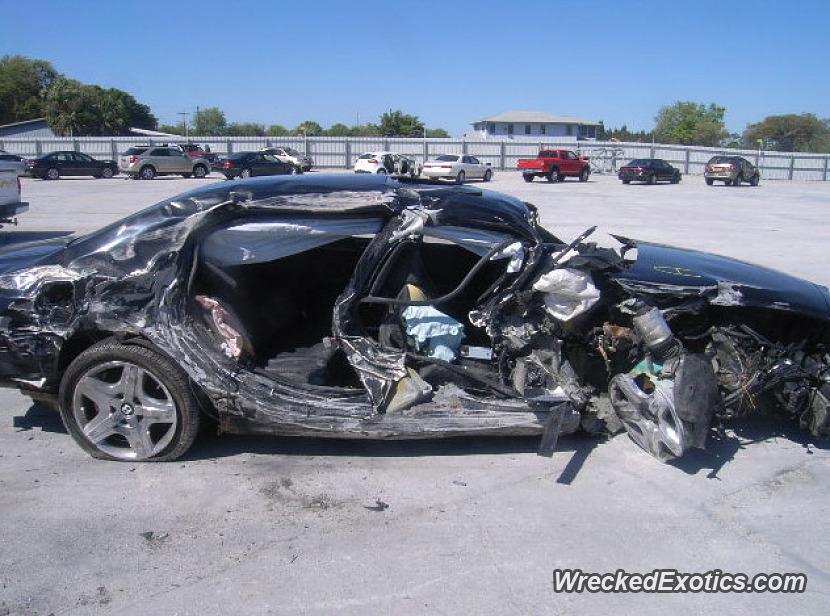 2006 Bentley Continental Wrecked In Punta Gorda Florida