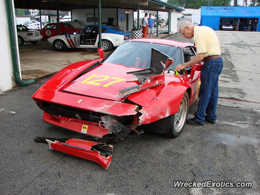 1978 Ferrari 308 Wrecked In Atlanta Georgia