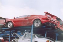 Lamborghini Countach Crashes 53 Pictures