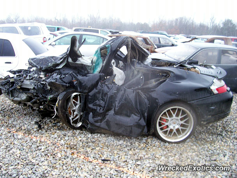 Wow Possibly One Of The Worst Porsche 911 Crashes Driver Was Going Too Fast In