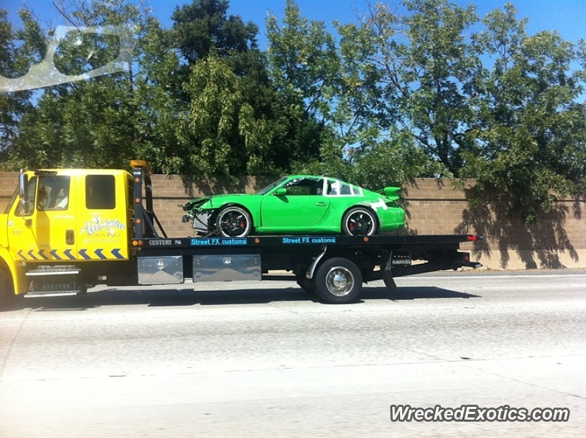 Porsche San Jose >> Porsche 911 Gt3 Wrecked In San Jose California