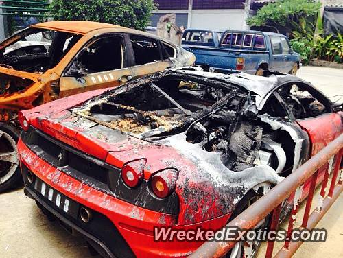 Luxury Cars For Sale Thailand >> Multiple Exotic Cars Destroyed By Fire In Thailand