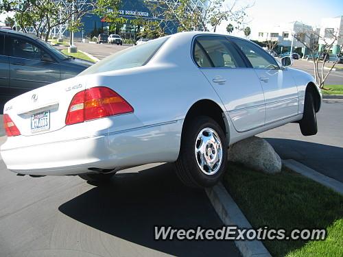 2006 Lexus LS 430 Wrecked in San Diego, California