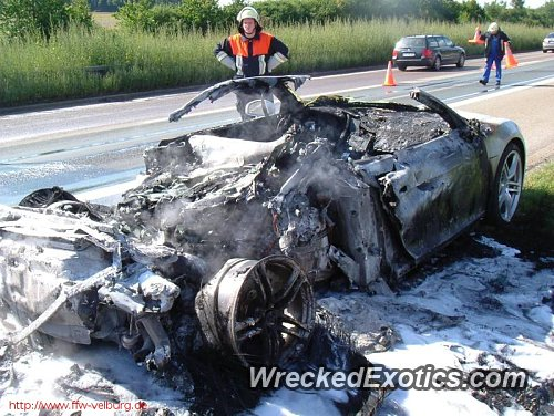 Engine Caught Fire Totally Destroyed This Brand New Car