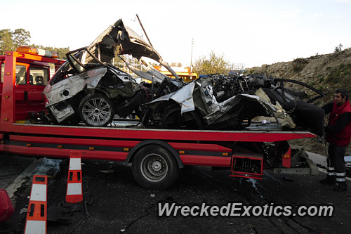 Terrible High Speed Crash Tore This Bmw Into Pieces And