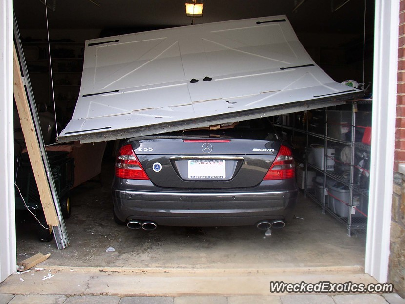 The father 39 s mercedes was parked in the garage and the for Garage chevrolet luxembourg