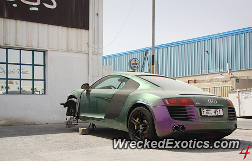 de6d9798d0110a This R8 With a Pearlescent Paint Job (The Kind Where The Color Changes  Depending.