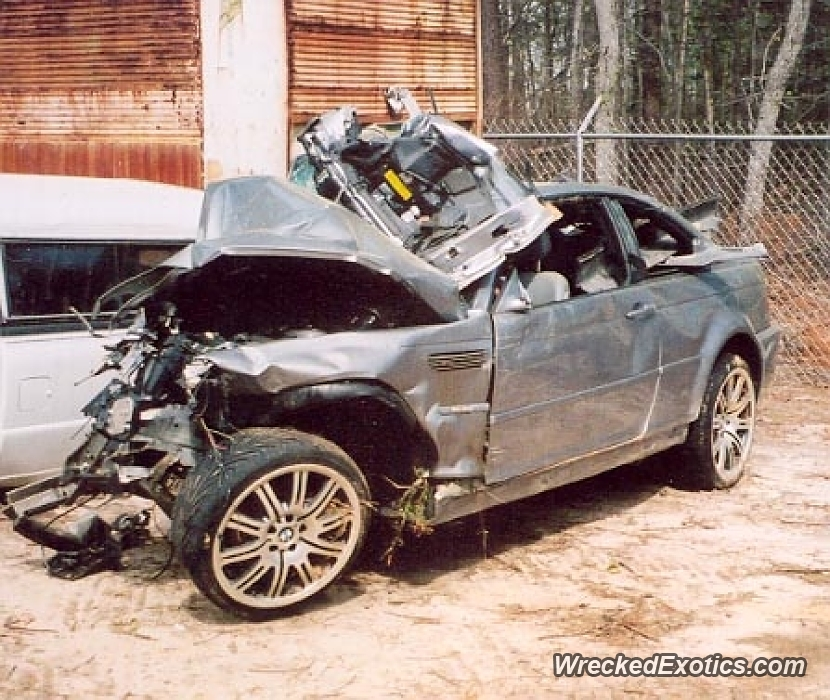 2004 Bmw M3 Wrecked In Columbia, South Carolina