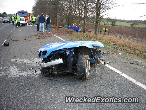 Slammed Into A Tree At 70 Mph Car Split In Half And The Driver