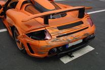 Porsche carrera gt crash