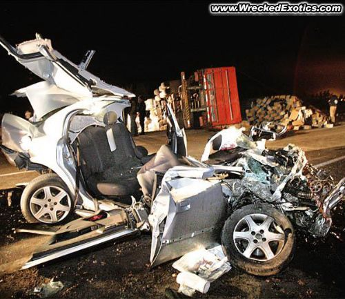 High Speed Automobile Wrecks