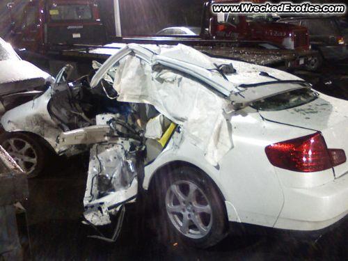 Car Crash Palisades Parkway Car Crash