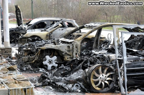 Exotic Car Crashes, Porsche, Ferrari, BMW, Mercedes