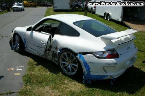 Exotic Cars Wrecked Exotic Cars Ferrari Jaguar