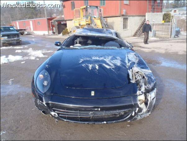 autos de lujo chocados