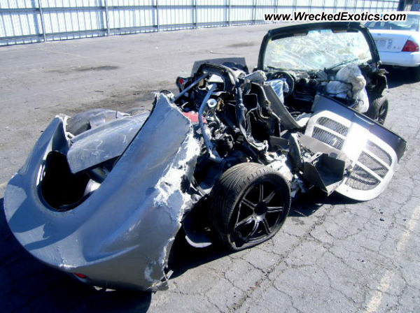 2006 Lotus Elise Wrecked Los Angeles Ca