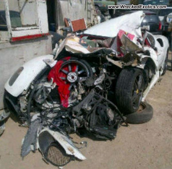 Bmw Z8 Salvage: 2006 Ferrari F430 Wrecked, Tripoli, Lebanon