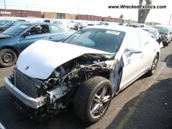 2010 Porsche Panamera S Wrecked Van Nuys Ca
