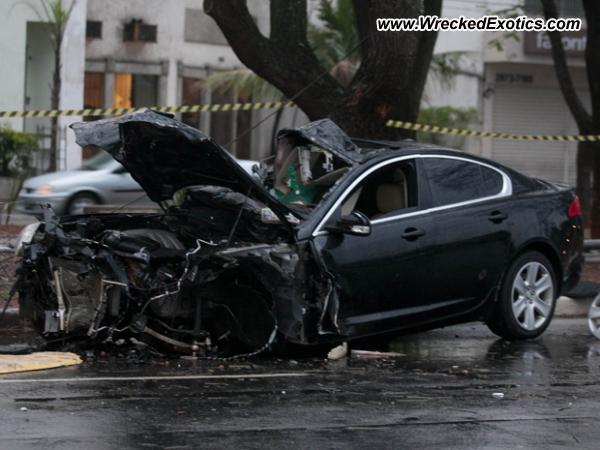 2011 Jaguar Xf Wrecked Sao Paulo Brazil
