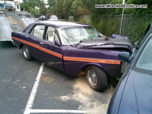 1970 Ford Falcon Xy Gt Wrecked Australia