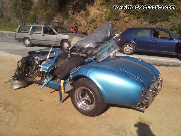 Shelby Cobra Wrecked Austria Photo 3