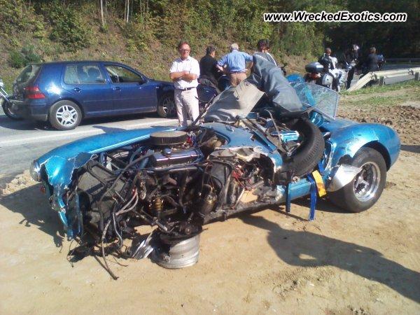 Shelby Cobra Wrecked Austria Photo 2