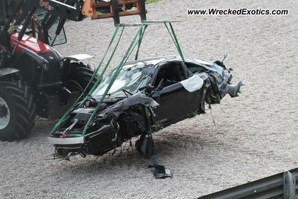 2011 Porsche Gt2 Rs Wrecked Salzburg Austria Photo 2