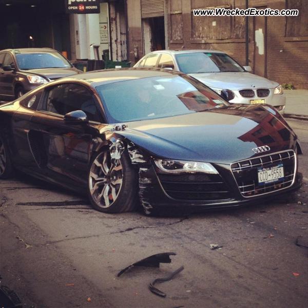 Bmw Z8 Salvage: Audi R8 Wrecked, New York, NY