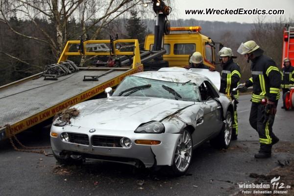 Bmw Z8 Wrecked Rambach Germany Photo 2