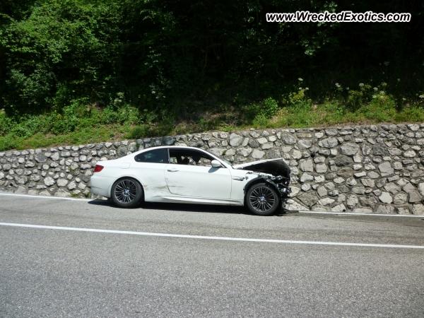 2011 Bmw E92 M3 Wrecked Tolmezzo Italy Photo 2
