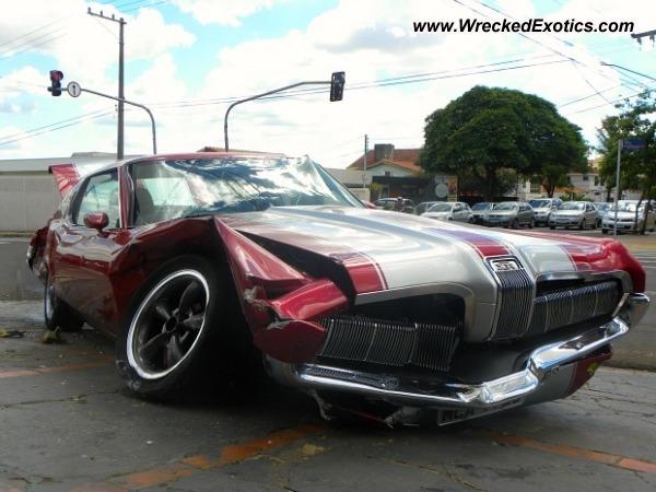 1970 Mercury Cougar Wrecked Campo Grande Brazil