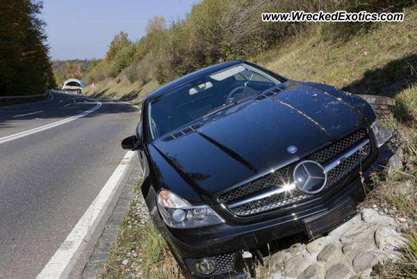 2009 Mercedes Benz Sl 63 Amg Wrecked Bern Switzerland