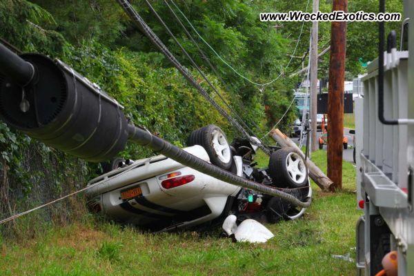 Dodge Viper Rt 10 Wrecked Long Island Ny
