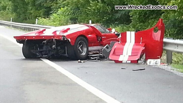 1966 Ford Gt40 Wrecked Tennessee