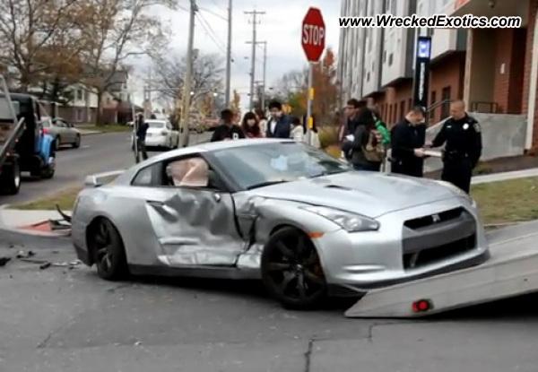 2010 Nissan Gt R Wrecked Syracuse Ny