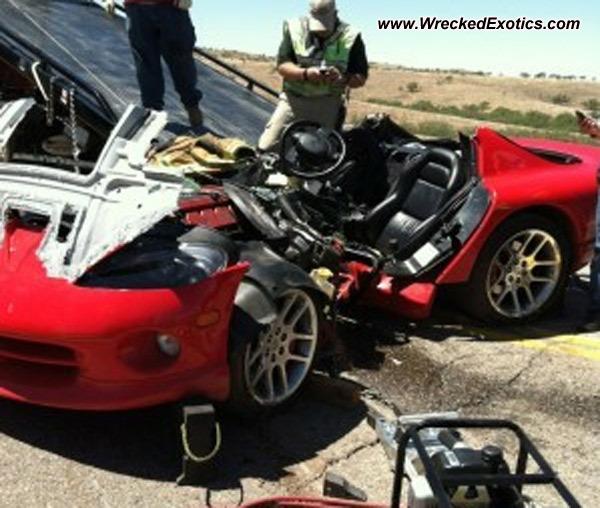 Dodge Viper Wrecked, Arivaca, AZ