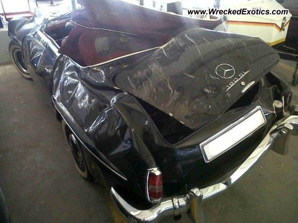 1962 Mercedes Benz 190sl Wrecked South Africa Photo 2