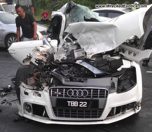 Bmw Z8 Salvage: Audi TT S-Line Wrecked, Kajang-Cheras, Malaysia