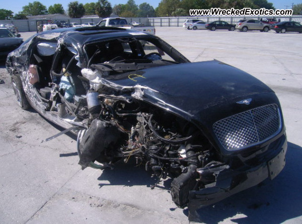 2006 Bentley Continental Wrecked Punta Gorda Fl Photo 2