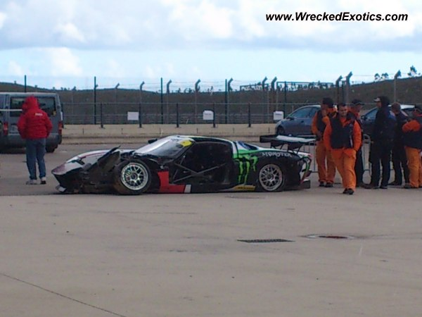 Ford gt40 salvage